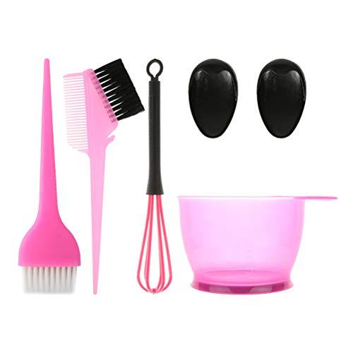 Outils Coloration des Cheveux 5pcs Coloration Kit Set Hair Dye Hair teinter Bowl Set Salon Outils Tint