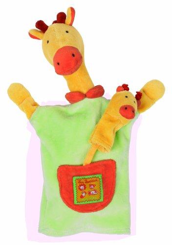 Moulin Roty - Marionnette Girafe Les Loustics 24cm