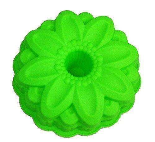 GMMH Stampo in silicone a forma di fiore, per dolci o pane, stampo per dolci alla frutta