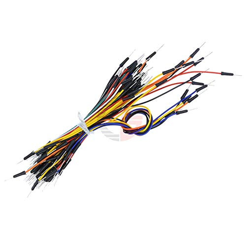 5Packs 325Pcs Male to Male Solderless Flexible Breadboard Jumper Cable Wires