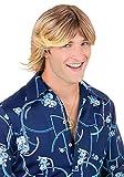 Fun World Men's Ladies Man Wig Blonde Accessory, Gold, Standard