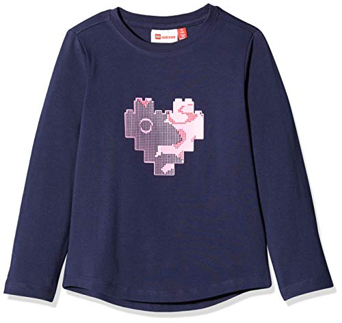 Lego Wear Lwtonja T-Shirt À Manches Longues, Bleu (Dark Navy 590), 92 Bébé garçon