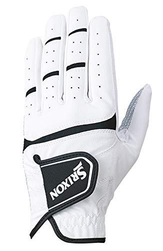 ダンロップ(DUNLOP) ゴルフ グローブ(手袋) メンズ 左手用 スリクソン ホワイト 22cm GGG-S026 ゴルフグローブ