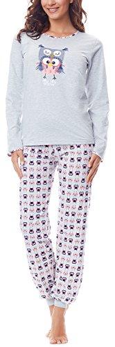 Merry Style Pijama Largo de 2 Piezas Mujer MSTR980 (Mezcla-F2A, XXL)