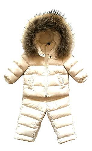 Moncler Junior Trainingsanzug mit Kapuze New MAUGER Weiß, Weiß 12/18 Monate