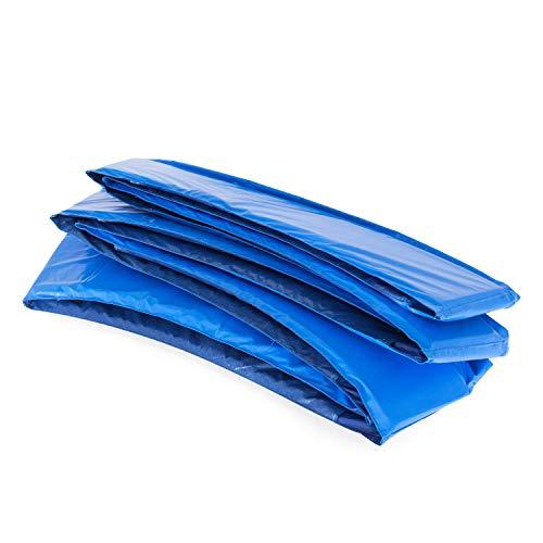Ampel 24 MotionXperts Trampolin Randabdeckung, passend für Trampolin Ø 366 cm, Federabdeckung reißfest und beständig, Schutzrand blau