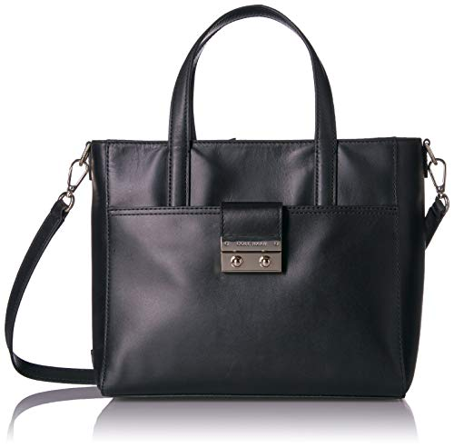 Cole Haan Lock Group Small Tote, Black