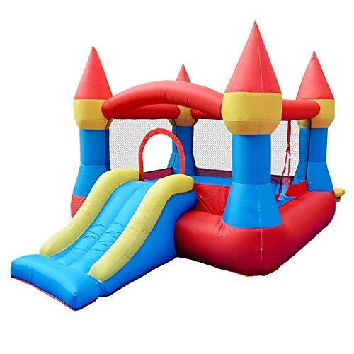 FGA Babyspielzeug Hüpfburgen Kinder aufblasbares Schloss Kinder Traumschloss Spielplatz Mode Kinderspielzeug Kinderschloss Rutschen innen und außen