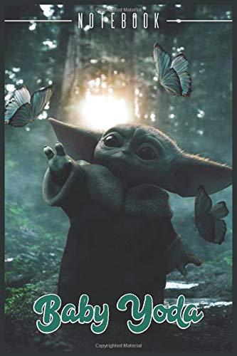 Baby Yoda Lined Journal Baby Yoda Notebook: 120 Pages, 6x9 Diary. Gift Notebook Journal for baby yoda, Baby Yoda Notepad, stuff animal Lovers, Star Wars Baby Yoda