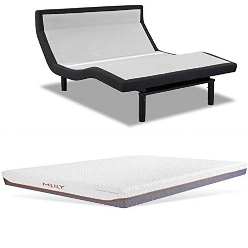 Best Review Of Leggett & Platt Prodigy PT 3.0 Adjustable Bed with Choice of MLily Cool Gel Infused M...