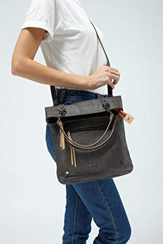Fashion Shopping Sherpani Rebel, Cotton Canvas Crossbody Bag, Fashion Handbag, Vintage Tote Purse,