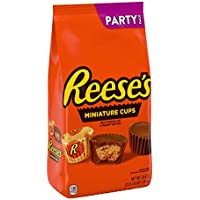 Reese's Milk Chocolate Peanut Butter Cup Miniatures Party Bag, 35.6 oz