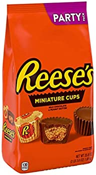 Reese's Milk Chocolate Peanut Butter Cup Miniatures Party Bag