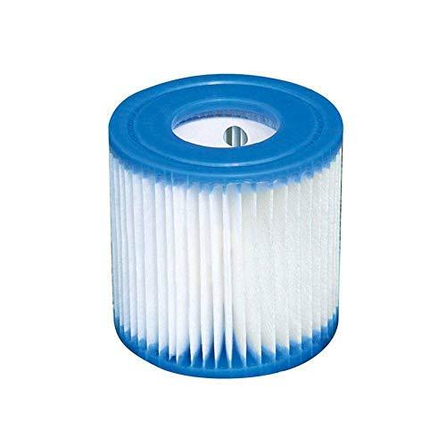 Cartucho de filtro tipo H para piscinas, cartuchos de filtro de repuesto para piscinas de spa y bañera de hidromasaje, herramienta de limpieza