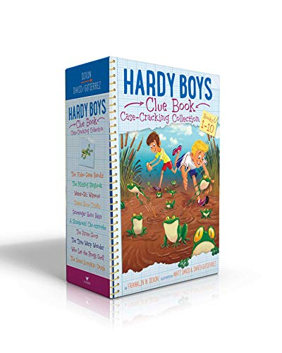 Hardy Boys Clue Book Case-Cracking Collection: The Video Game Bandit; The Missing Playbook; Water-Ski Wipeout; Talent Show Tricks; Scavenger Hunt ... Let the Frogs Out?; The Great Pumpkin Smash