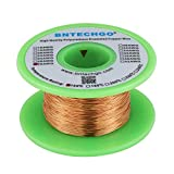 BNTECHGO 28 AWG Magnet Wire - Enameled Copper Wire - Enameled Magnet Winding Wire - 4 oz - 0.0122' Diameter 1 Spool Coil Natural Temperature Rating 155℃ Widely Used for Transformers Inductors