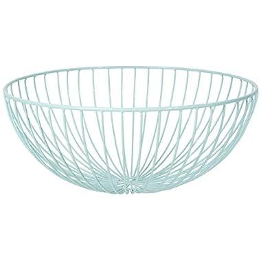 Now Designs Hemisphere Fruit Basket, Turquoise