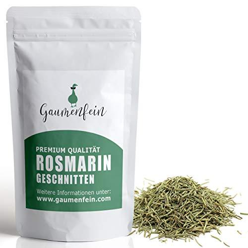 GAUMENFEIN® Rosmarin Getrocknet und Geschnitten - 100% natürliche Premium Qualität - 250g