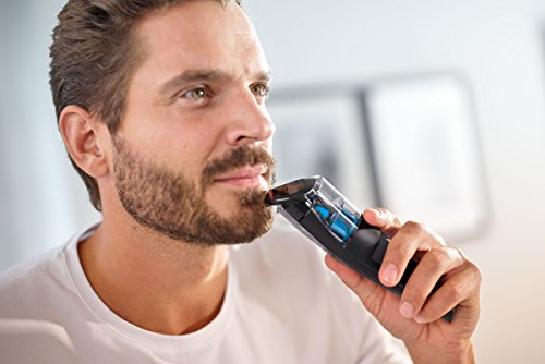 Philips Series 7000 Beard and Stubble Trimmer with Integrated Vacuum System - BT7202/13