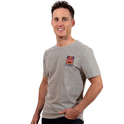 Red Bull KTM Patch T-Camisa, Gris Hombres Small Camisa Manga Larga, KTM Racing Team Original Ropa & Accesorios