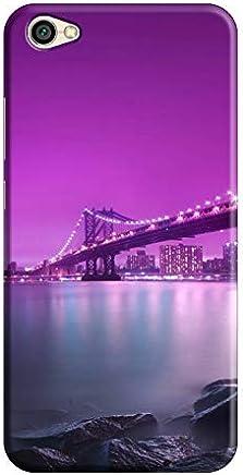 Cover It Up - Bridge-Purple Redmi Y1 Lite Hard Case