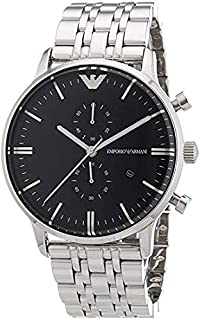 Emporio Armani Classic For Men - Analog Stainless Steel Band Watch - AR0389
