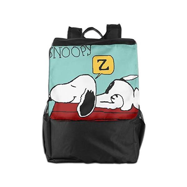 41d67OmgAAL. SS600  - Snoopy Mochila de viaje para dormir ligera de poliéster para hombres y mujeres