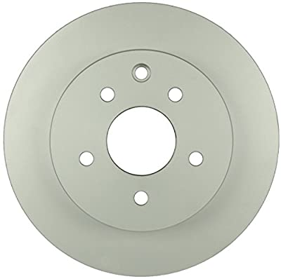 Bosch 40011061 QuietCast Premium Disc Brake Rotor For Infiniti: 2003-2004 G35; Nissan: 2011-2013 Leaf, 2003-2005 350Z, 2008-2016 Rogue, 2014-2015 Rogue Select; Rear