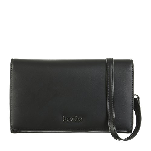 Boscha BO-LP3697-001 - Pochette da donna, 19 x 11 x 11,5 cm, colore: Nero
