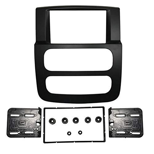 MMI-LX 1 o 2 DIN Radio Fascia for Dodge RAM 1500 2500 3500 Pannello Stereo Staffa di Montaggio Installazione Trim Kit Telaio by (Color Name : 2 DIN)