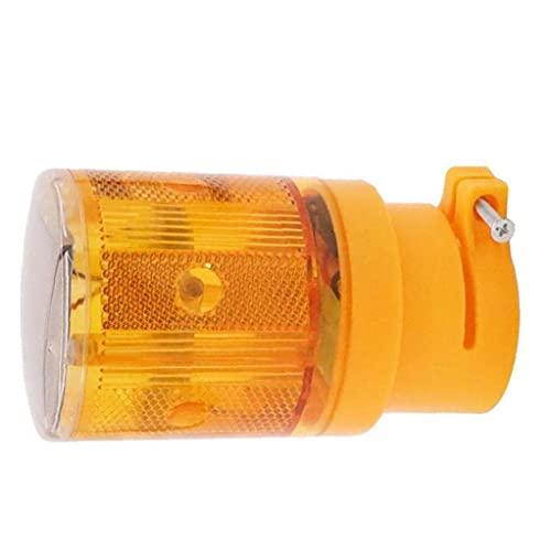 Runfon Led piloto Solar luz estroboscópica a Prueba de Agua de la señal inalámbrica de la lámpara del Faro para la construcción del jardín de Emergencia Amarillo