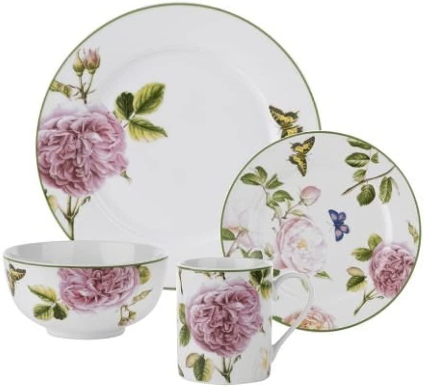 Spode Home Roses 16 Piece Dinnerware Set