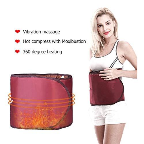 LMCLJJ Beheizte Rückengurt Massage Taille Wrap, beheizbarer Hüftgurt mit ErschütterungMassager Operated Heizung Therapie for Bauch- und Rückenschmerzlinderung Lendenwirbelsäule Arthritis