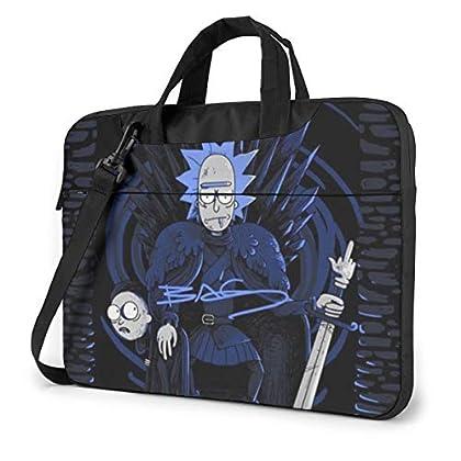 No puede faltar Rick y Morty en tu Bolsa para Ordenador Portatil, o si?