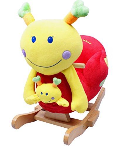 TORRO 3199902561 - Schaukelschnecke, Emily mit Baby Schaukelpferd