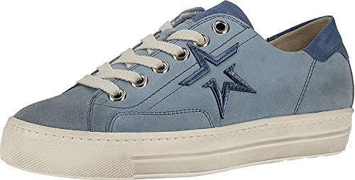 Paul Green 4810 Damen Sneakers Hellblau, EU 43