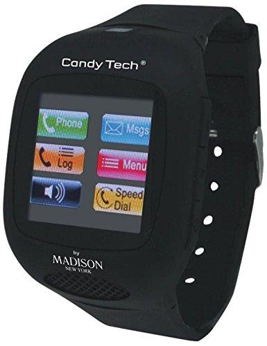 MADISON NEW YORK Unisex-Armbanduhr Candy Tech Digital Plastik CT-03A