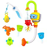 Baby Bath Toy - Toddlers Bathtub Toys Diver and Fishing Toy Set Shower Bathroom Game for 1 2 3 4 5 Years Old...