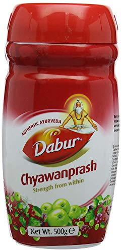 Dabur Chyawanprash has a tangy sweet-sour taste and the consistency of jam....