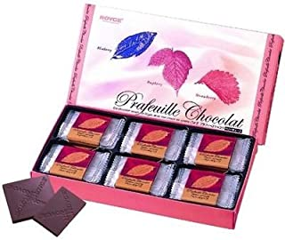 Royce Prafeuille Chocolat - Berry Cube Flavor - The Most Famous Chocolate from Hokkaido Japan Best for Valentine Gift Eligible for a 3-4 Business Day Shipping If Ordered Within the U.S.