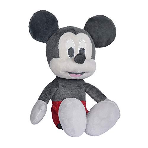 Simba Toys Peluches Disney - Peluche de Mickey Mouse estilo Retro, para Niños de todas las edades - 25 cm