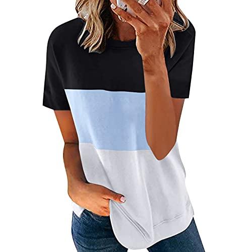 UOCUFY Damen Sexy Elegant Kleider Mode Blumendruck V-Ausschnitt Sommerkleid Junge Mädchen Party Strandkleider Partykleid Freizeitkleid Basic Midi Club Kleider Crop Tops Damen Teenager
