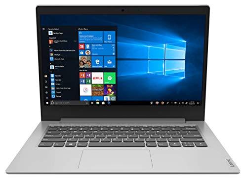 Lenovo IdeaPad 1 - Ordenador Portátil 14' FulHD (Intel Celeron N4020, 4GB RAM, 64GB eMMC 5.1, Intel UHD Graphics 600, Windows 10 Home en Modo S) Gris - Teclado QWERTY Español