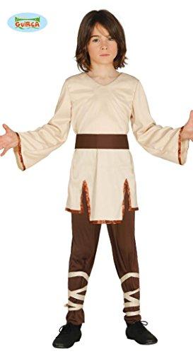 Guirca Spiritueller Meister der Sternen Ritter Kostüm für Jungen Kinderkostüm Krieger Gr-110-146, Größe:128/134