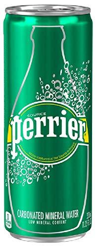 ネスレ ペリエ 炭酸水 330ml×4缶(並行輸入品) [3040]