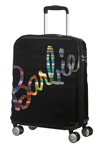 American Tourister Wavebreaker Barbie - Spinner S, negro (Shimmer Power Barbie)