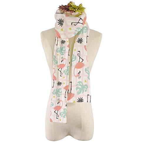 EVEYYWJ estampado colorido personalidad bufanda de felpa para mujer Bufanda Llama-cactus Bufandas de otoño e invierno bufanda de regalo