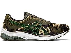 ASICS Men's Gel-Pulse 11 Running Shoes, 9M, Hunter Green/Green