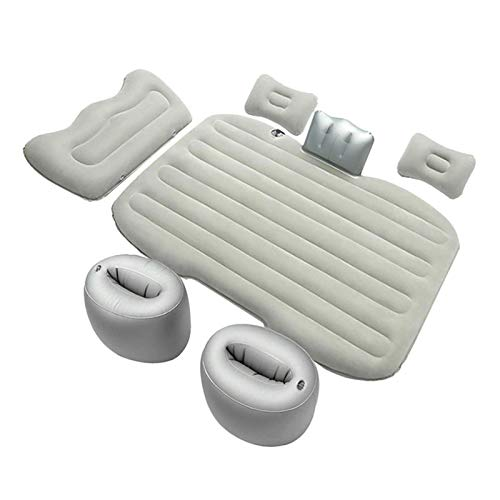 wenhe Quick Inflation Outdoor Camping Air Mattress With Built-In Pillows & Accessories,washable Soft PVC And Flocking Airbed