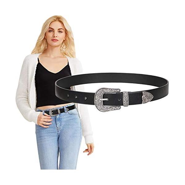 Vintage Western Design Ladies Cowgirl Waist Belt 3